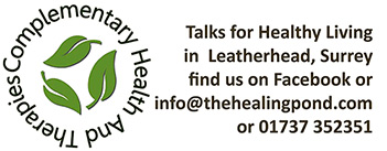 Talks for healthy living in Leatherhead